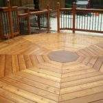 Octagon Deck After Staining