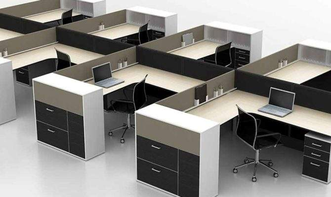 Office Cubicle Design Contemporary Modern