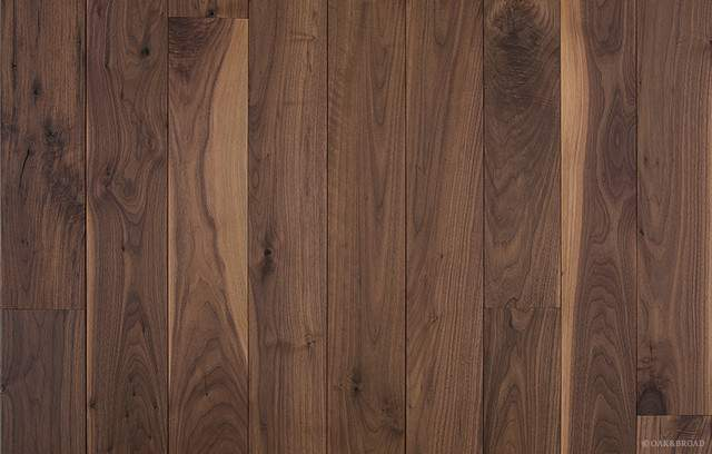 Oiled Black Walnut Wood Flooring Craftsman Hardwood