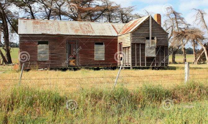 Old Dilapidated Australian Country Homestead