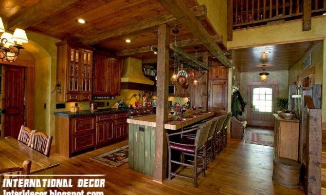 Old Farmhouse Woods Rustic Interior