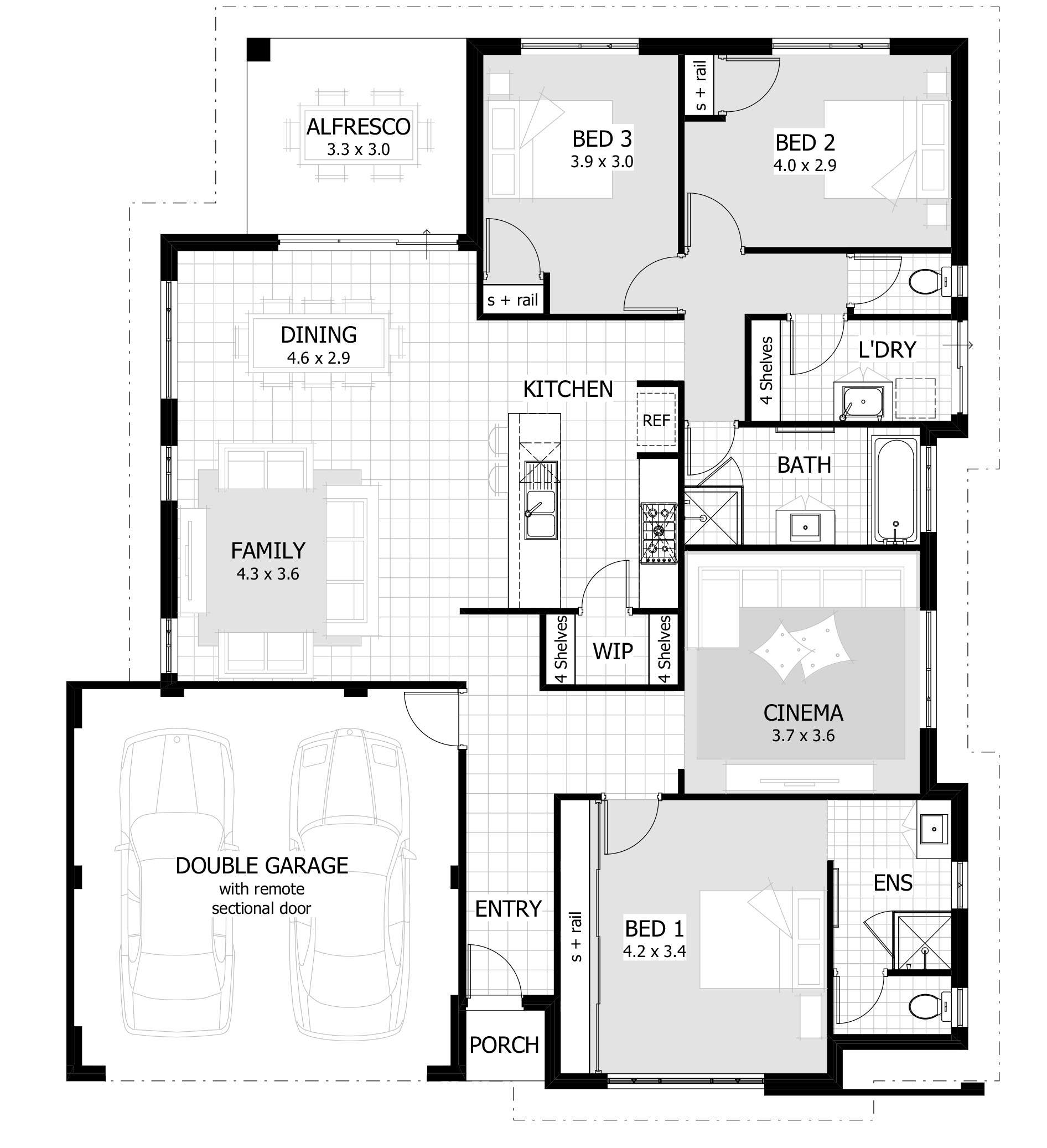 Old Plantation House Floor Plans