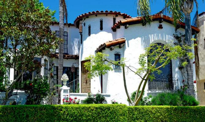 Old Spanish Style Homes Home Exterior Design Ideas