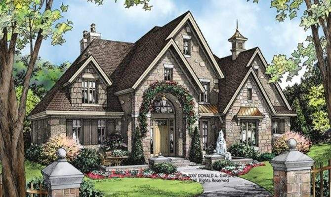 Old World Style Cottage House Plans