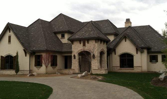 Old World Style Homes Exterior House Plans