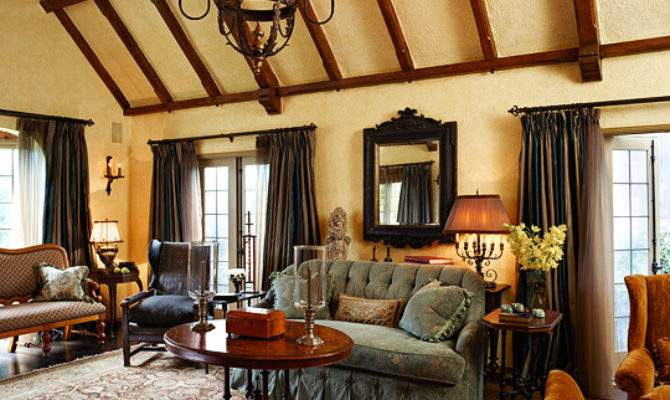Old World Style Tudor Revival House Traditional Home