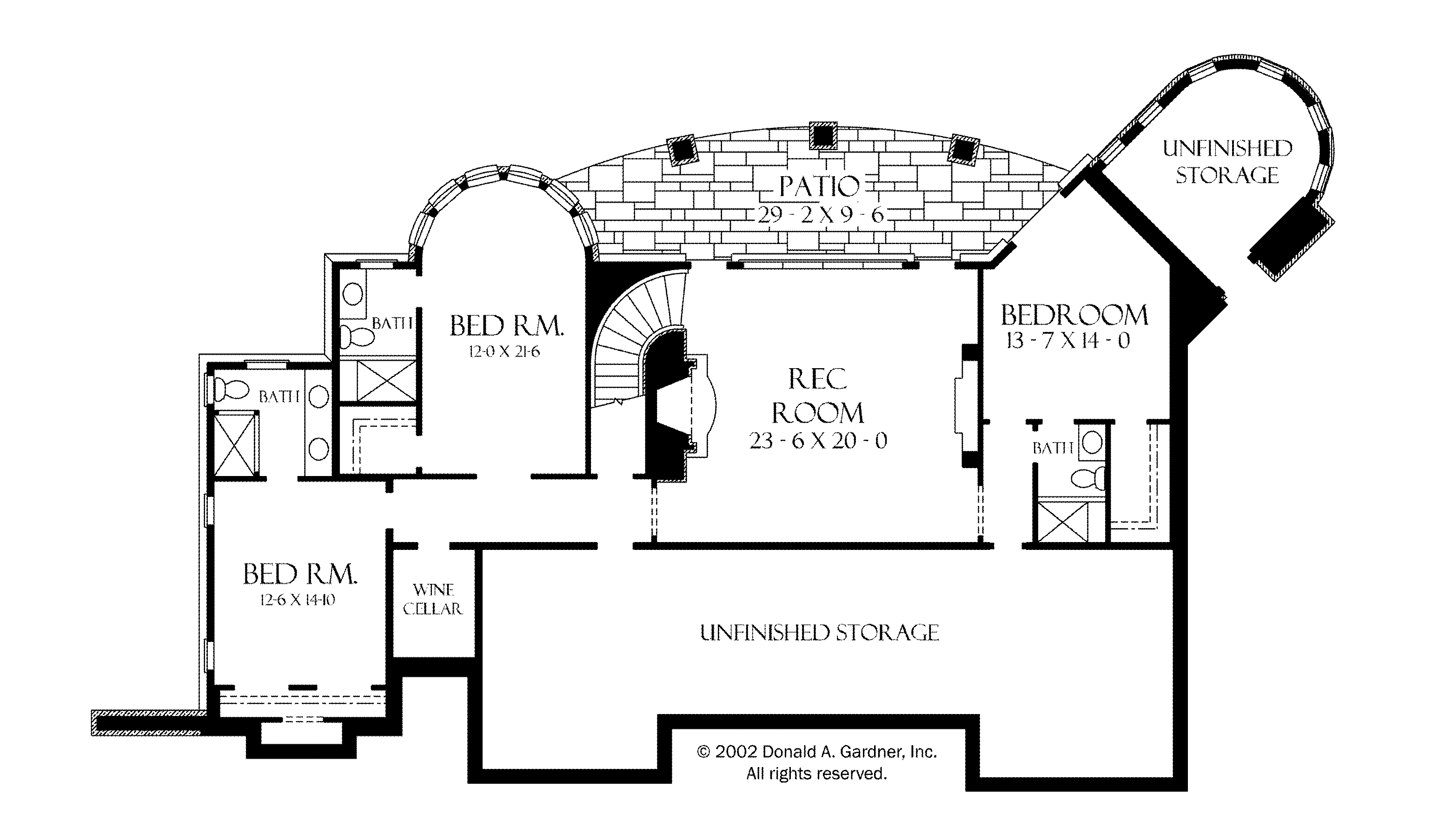 One Floor House Blueprints Plans Pricing