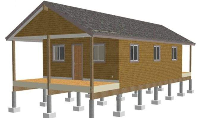 One Room Cabin Plans Cabins Single