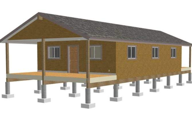 One Room Cabin Plans