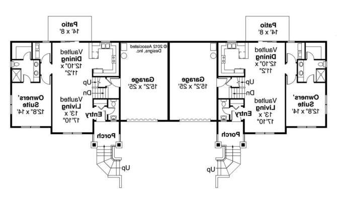 One Story Duplex House Plans Android Iphone