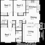 One Story Duplex House Plans Ranch