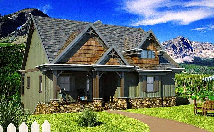 One Story Home House Plans Eplans