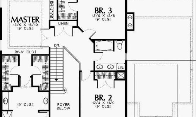 One Story House Plans Master Suites Ayanahouse