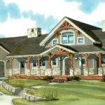 One Story Wrap Around Porch House Plans Danutabois