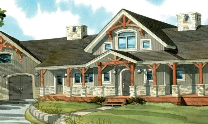 One Story Wrap Around Porch House Plans Many