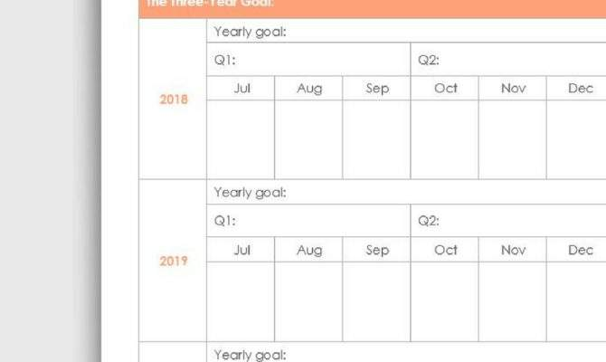 One Year Plan Monthly Yvoxs