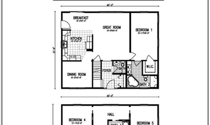 Open Floor House Plans Two Story
