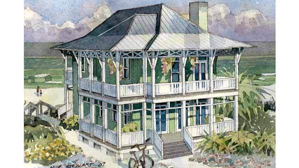 Our Best Beach House Plans Your Vacation Home