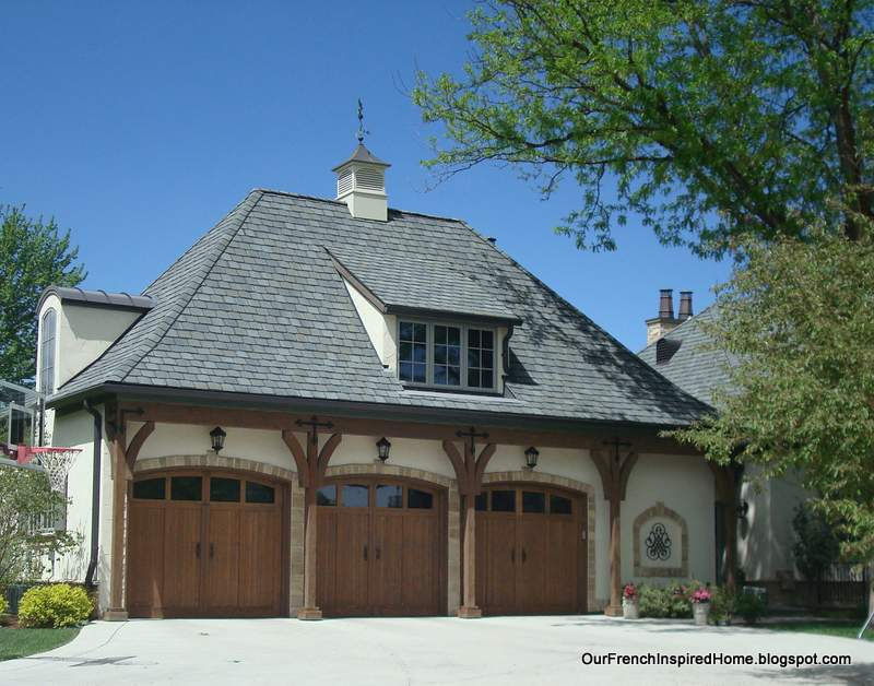 Our French Inspired Home European Style Garages