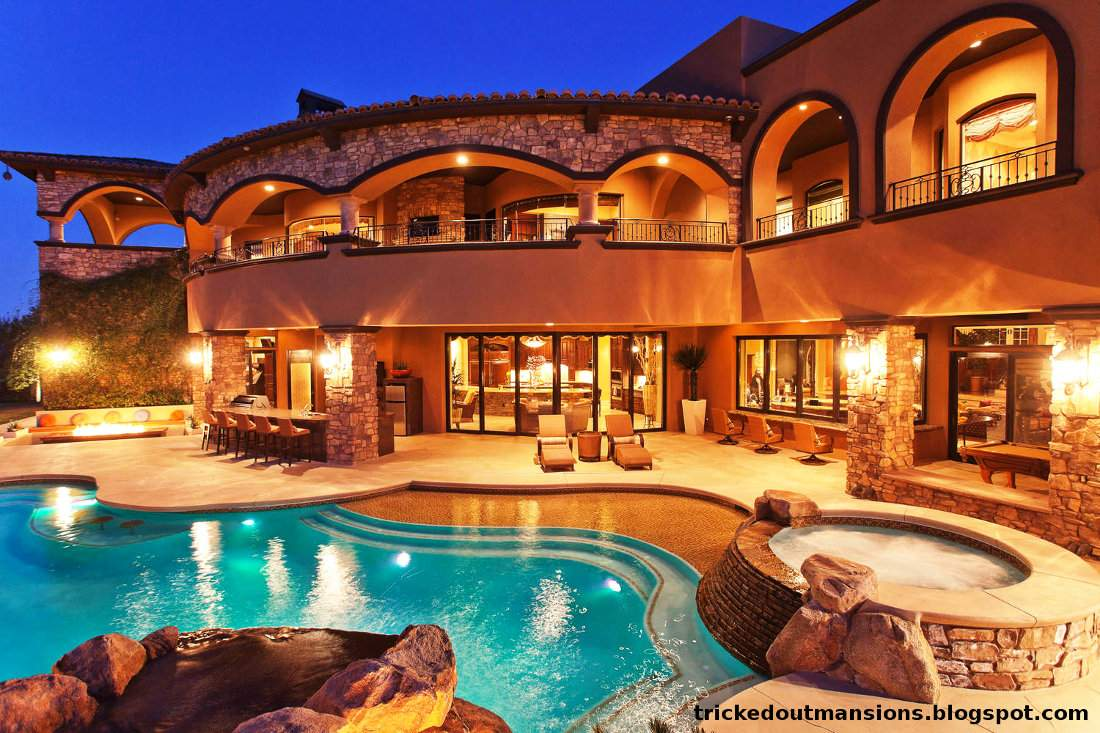Out Mansions Showcasing Luxury Houses Beautiful Las Vegas Mansion