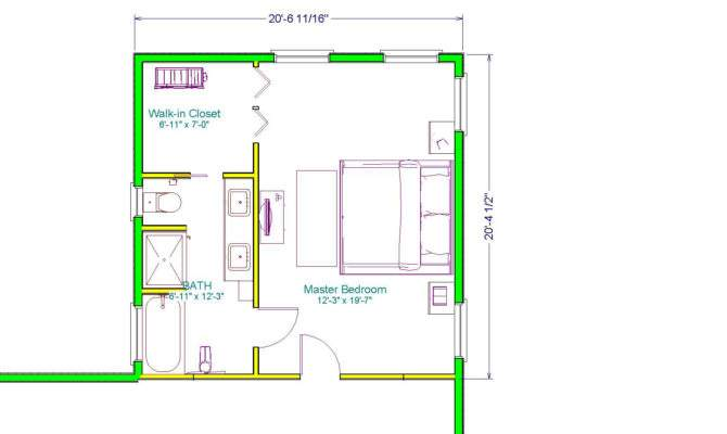 Out Master Suite Addition Includes Walk