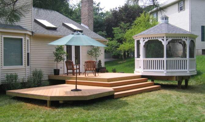 Outdoor Decks Patios Home Interior Design