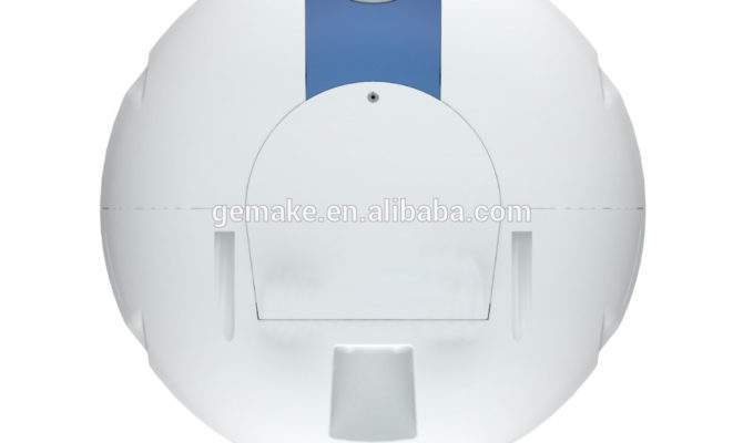 Oval Shell Plastic Mini Water Heater Storage Tank