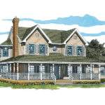 Painted Creek Country Farmhouse Plan House Plans More