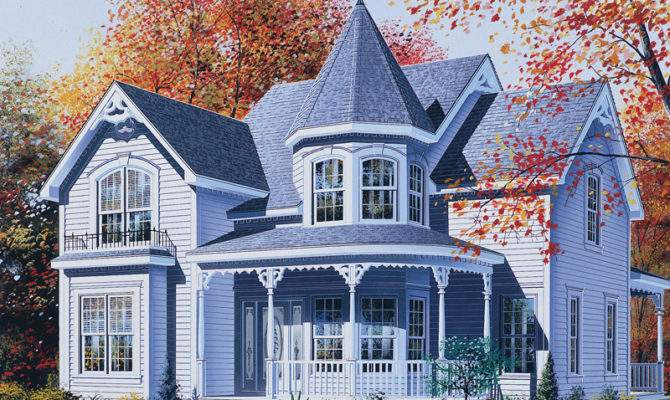 Palmerton Victorian Home Plan House Plans More