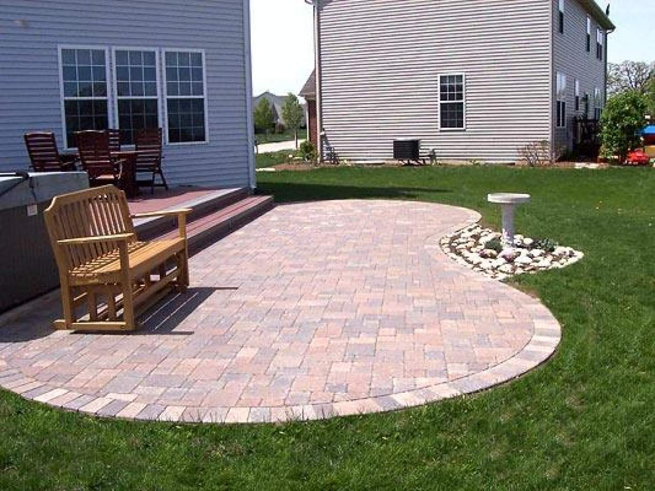 Paver Patios Ideas Decks Design