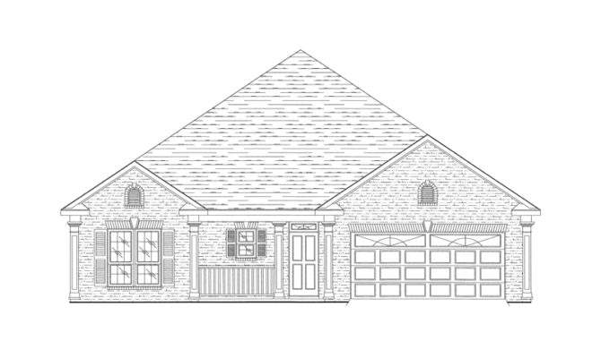 Peach Tree Hill Cottage Home Plan House Plans More