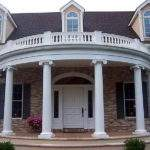 Picking Right Portico Designs Home Great Round