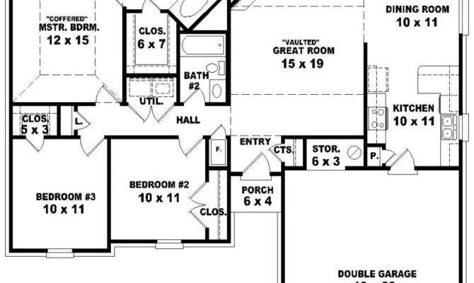 Pics Photos Simple Roof Plan One Story House