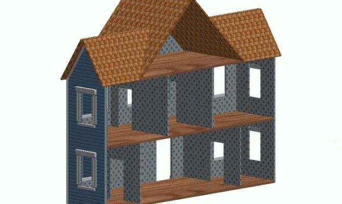 Pin Doll House Woodworking Plans Design Pinterest