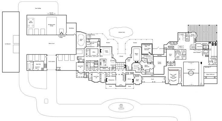 Pinterest Mansion Floor Plans Mansions