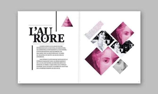 Pinterest Picks Geometic Layouts Picaboo Yearbooks