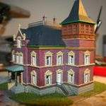 Pittsburgh Division Finished Model Power Victorian House Kit
