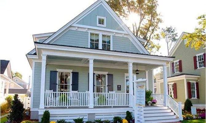 Plan Country Narrow Lot Cottage