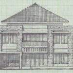 Plan Two Story Home Land Beautiful Houses