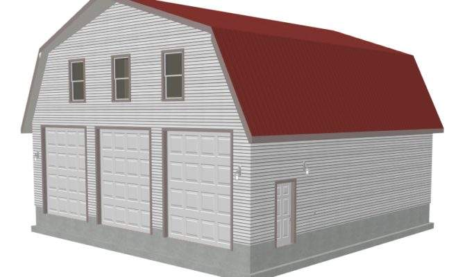 Plans Gambrel Barn Apartment
