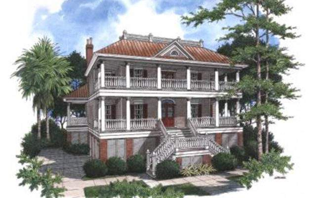 Plans Luxury House Colonial Southern