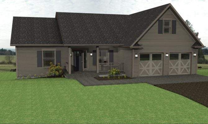 Plans Ranch Home Floor Country Small