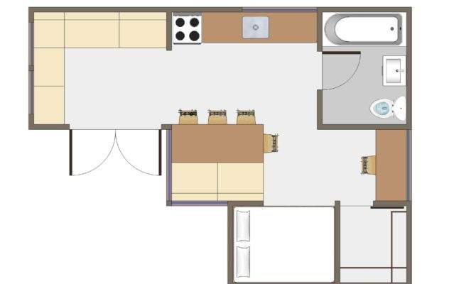 Plans Small House Floor Simple