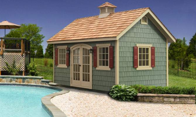 Pool Shed Ideas Designs Storage Homestead
