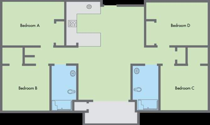 Primero Grove Floor Plan Bedroom Bathroom