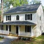Projects Custom Homes Small Classic Center Hall Colonial