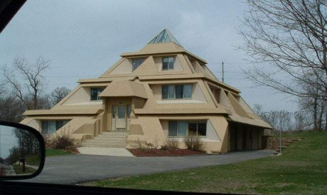 Pyramid House Photograph Absoludism