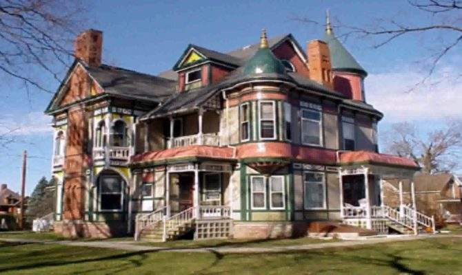 Queen Anne Victorian Style House Youtube