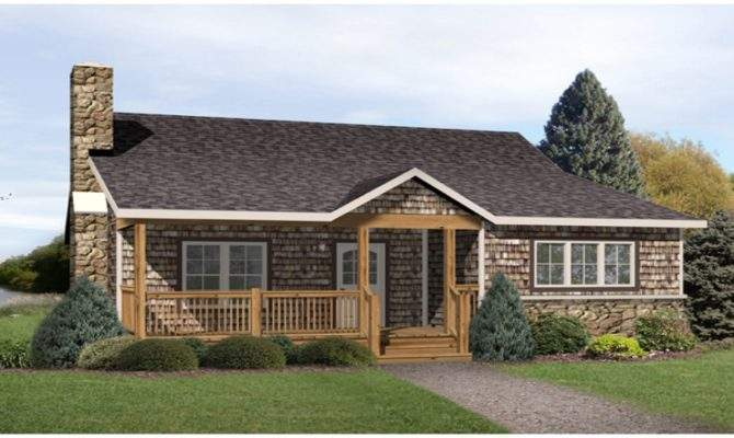 Radford Country Cabin Home Plan House Plans