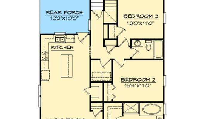 Ranch Home Plans Narrow Lots House Design